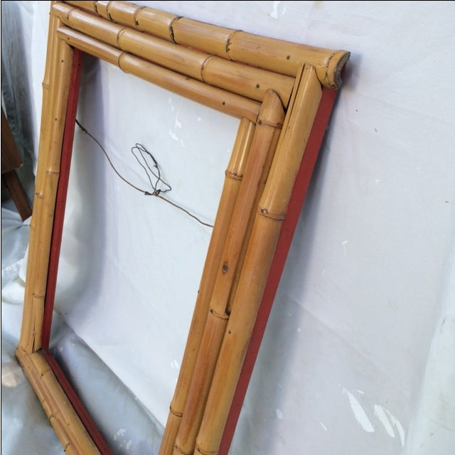 Bamboo Picture or Mirror Frame - Image 4 of 4