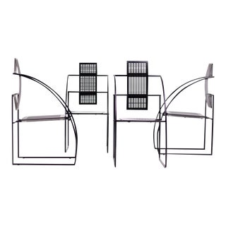 Set of Four Quinta Chairs, Mario Botta for Alias For Sale