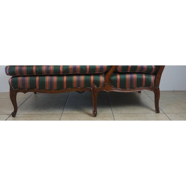 Louis XV Style French Provincial Chaise Lounge For Sale - Image 10 of 11