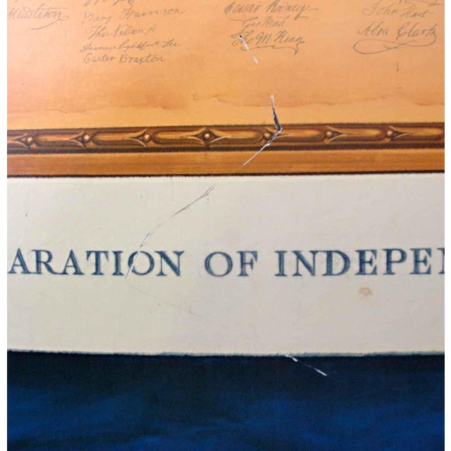 Commemorative Declaration of Independence Lithograph - Image 9 of 10
