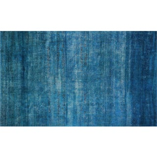 """Vintage Overdyed Persian Rug - 9'4"""" X 15'6"""""""