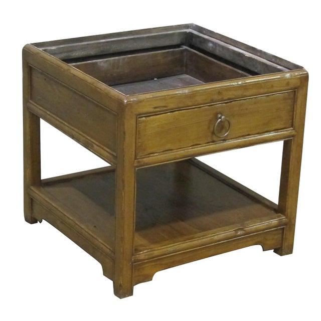 Vintage Sarreid LTD Elm Side Table Base - Image 1 of 4