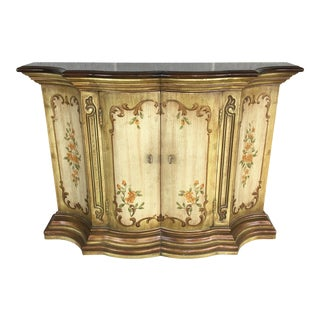 Drexel Heritage Et Cetera Paint Decorated Console For Sale