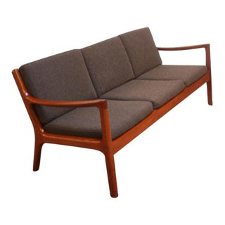 Ole Wanscher Teak Senator Sofa for France & Son For Sale