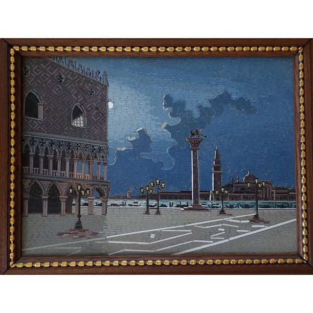 Late 19th Century 19th Century Italian Micromosaic Plaque For Sale - Image 5 of 13