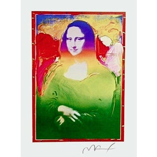 Peter Max Mona Lisa II 2003 For Sale