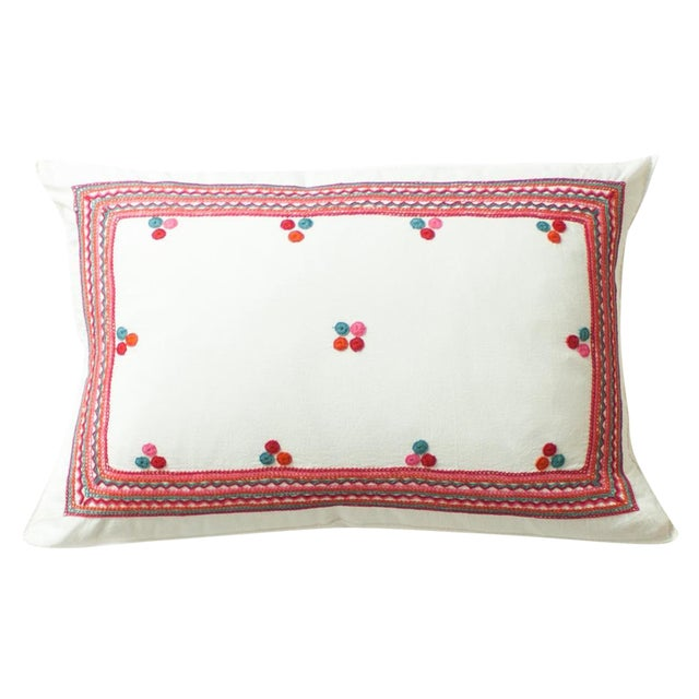 Chiapas Embroidered Pillow - Image 1 of 4