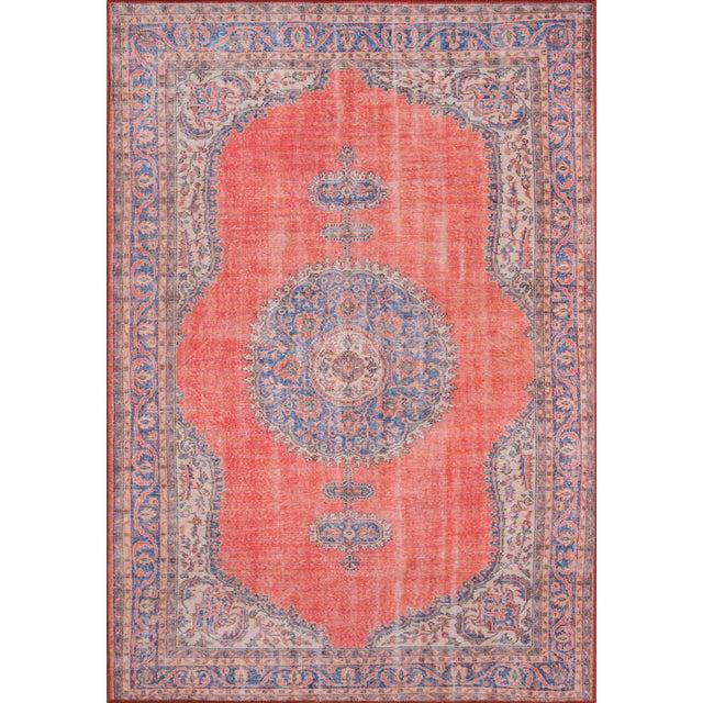Turkish Momeni Afshar Area Rug - 7′6″ × 9′6″ For Sale