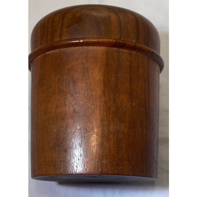Antique English Edwardian Period Pipe Tobacco Walnut Humidor For Sale In Washington DC - Image 6 of 10