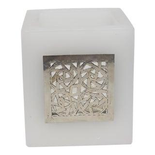 White Kasbah Tealight Holder For Sale