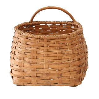 Vintage Swedish Basket For Sale