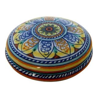 Italian Ceramic Trinket Box For Sale