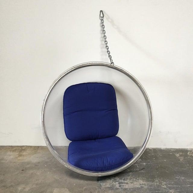 Eero Aarnio Plushpod Hanging Bubble Chair - Image 3 of 8