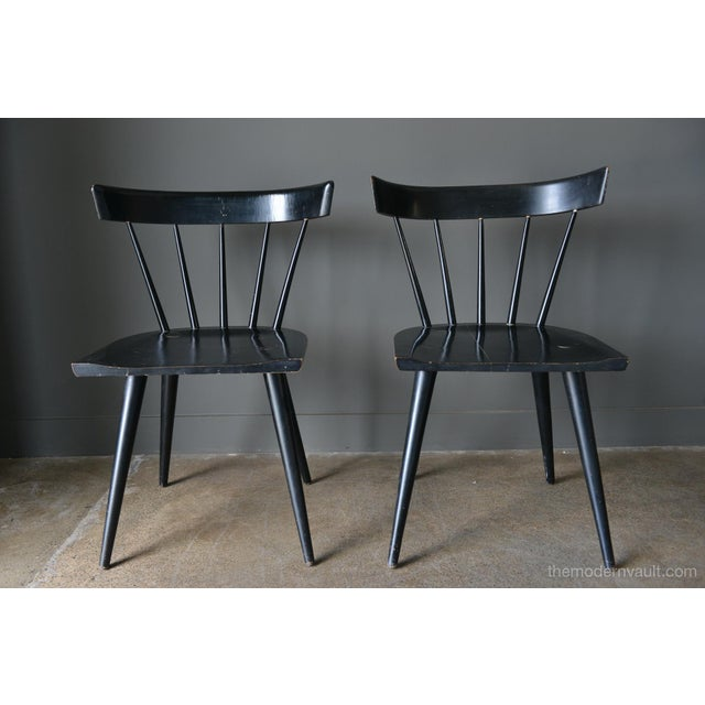 1950s Vintage Paul McCobb Planner Group Chairs- A Pair For Sale - Image 13 of 13