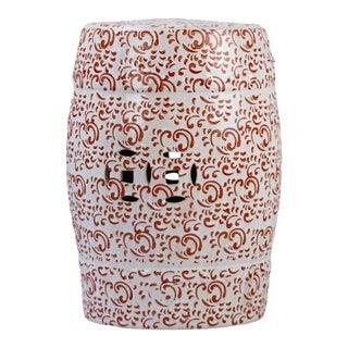 Modern Porcelain Garden Seat For Sale