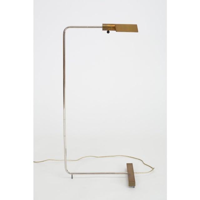 Cedric Hartman Brass Cantilever Floor Lamp