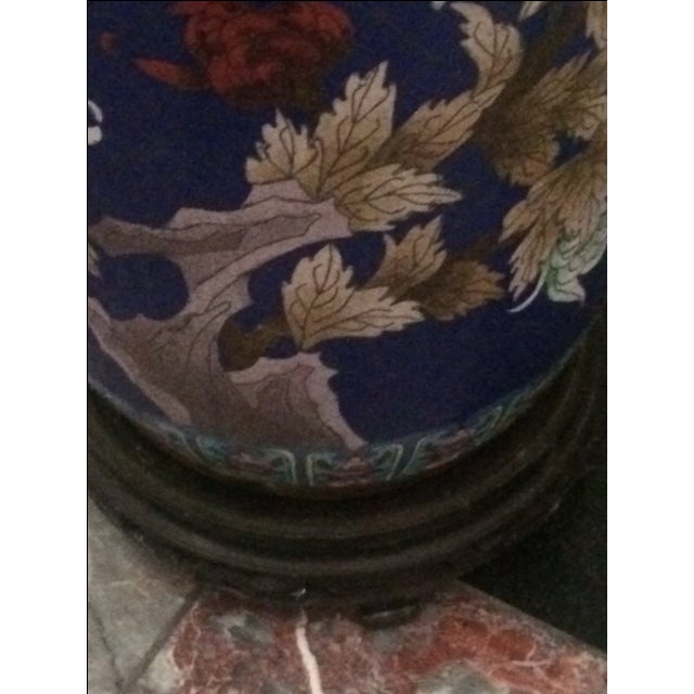 Chinese Collectable Cloisonne Umbrella Stand Chairish