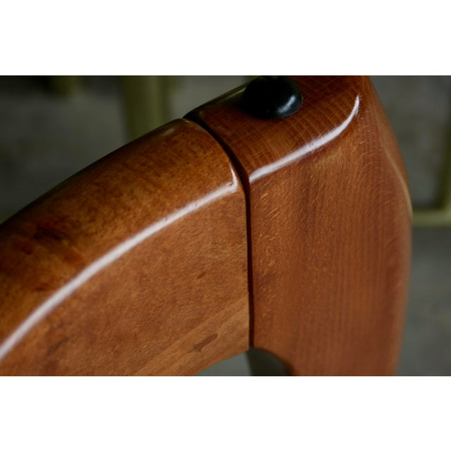 Danish Modern Anthropomorphic Carved Hardwood Dining Table For Sale - Image 12 of 13