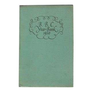 "1930 ""The B.B.C. Year-Book 1930"" Collectible Book For Sale"