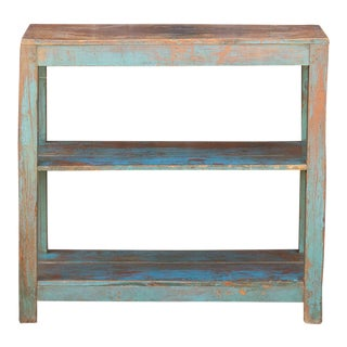 Azul Colonial Teak Etagere For Sale