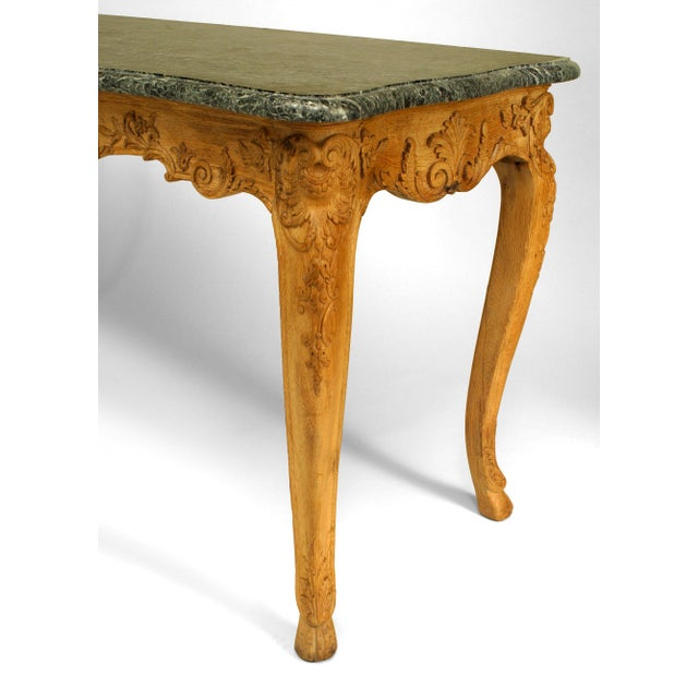 Louis XV 18th Century French Provincial Louis XV Consoles - a Pair For Sale - Image 3 of 5