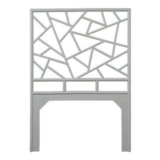 Tiffany Headboard Twin - Light Gray For Sale
