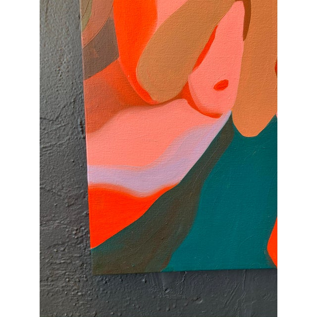 Contemporary Contemporary Nude Figure Oil Painting For Sale - Image 3 of 9