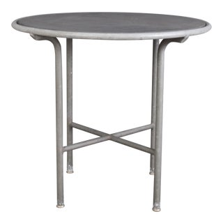 Blue Stone , Indoor/ Outdoor Table Switzerland Circa 1950 For Sale