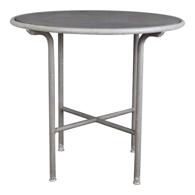Blue Stone , Indoor/ Outdoor Table Switzerland Circa 1950 For Sale