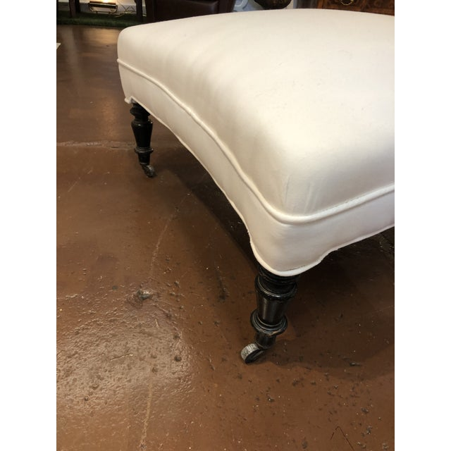 This versatile 19th century French ottoman is the perfect piece to rest your feet or use as a coffee table with a large...