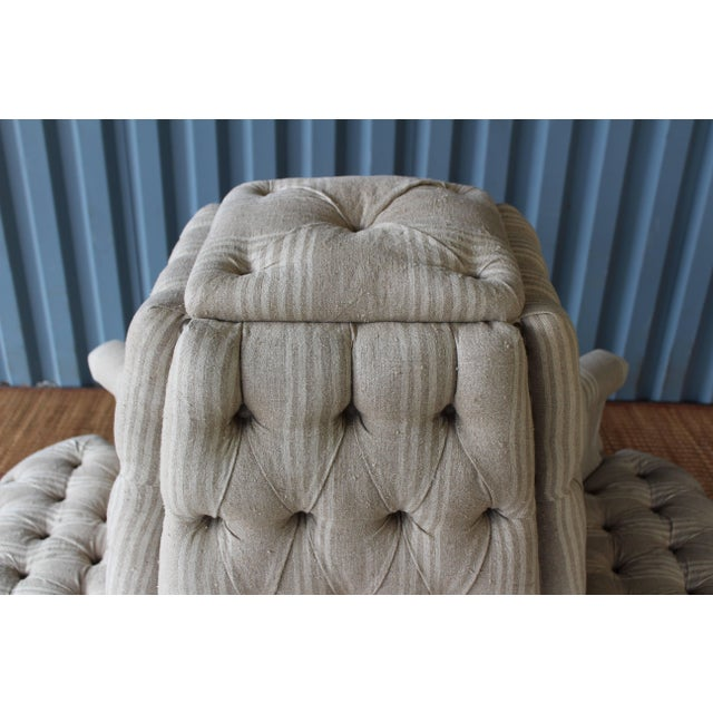 Antique 19th Century French Napoleon Boudoir Sofa For Sale - Image 4 of 11