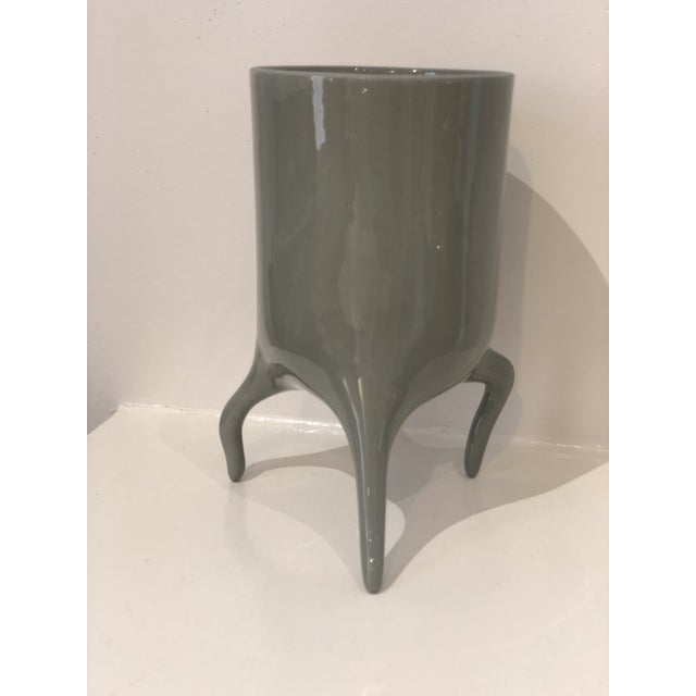 Carnivora Large Porcelain Planter For Sale - Image 4 of 8