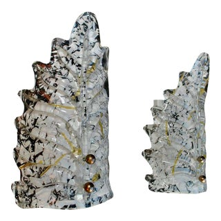 Small 1970s Murano Sconces - a Pair For Sale