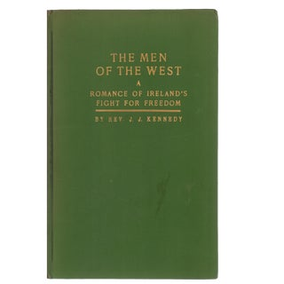 "1933 ""Men of West: Romance of Ireland's Freedom Fight"" Collectible Book For Sale"