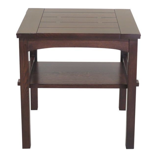 Stickley Mission Oak Arts & Crafts Occasional End Table For Sale