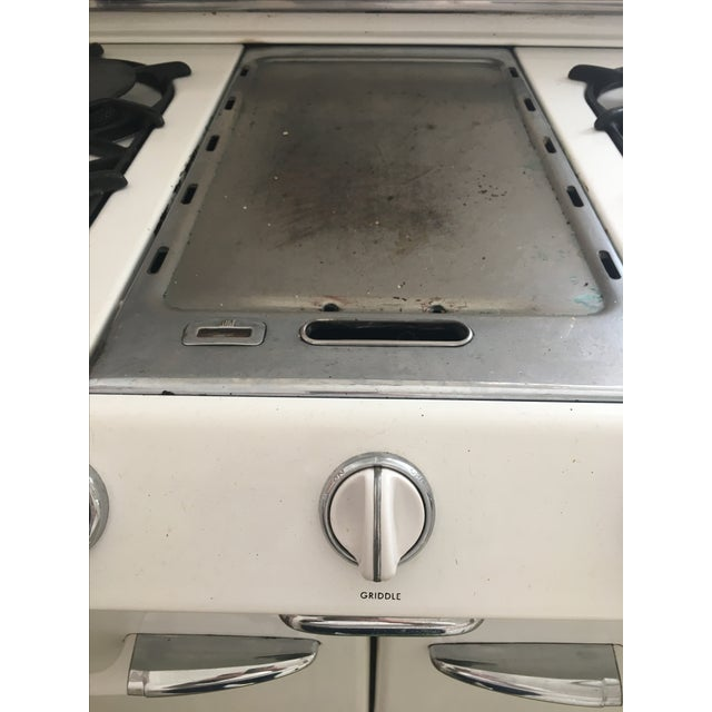 1950s Vintage O'Keefe & Merritt Stove With Griddle For Sale - Image 9 of 9