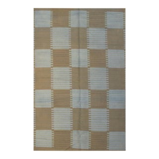 Pasargad N Y Scandinavian Design New Zealand Wool Rug - 5′9″ × 8′10″ For Sale