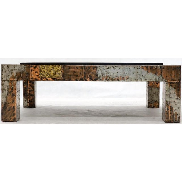 Paul Evans Mid-Century Modern Rectangular Coffee Table With Slate Top For Sale - Image 6 of 12