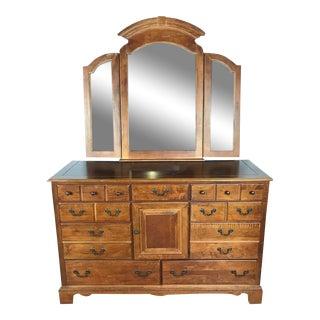 Vaughan Furniture Company Wood Eight-Drawer Dresser