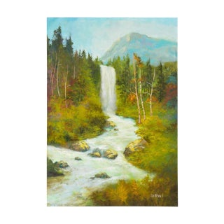 Sierra Mountains Waterfall For Sale