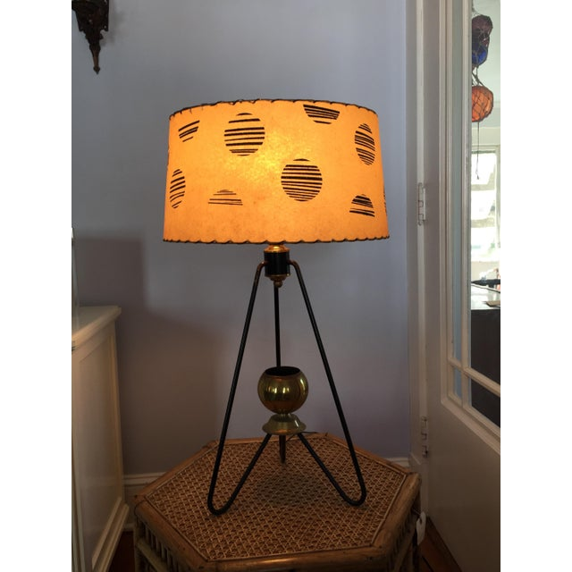 Gerald Thurston for Lightolier Hairpin Tripod Table Lamp - Image 7 of 7
