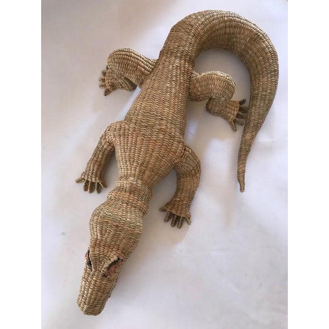 2010s Folk Art Mario Lopez Torres Crocodile For Sale - Image 5 of 7