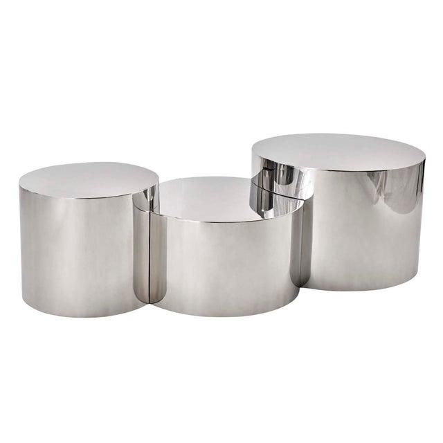"""Geometria: Cerchi #4"" Coffee Table For Sale - Image 10 of 12"