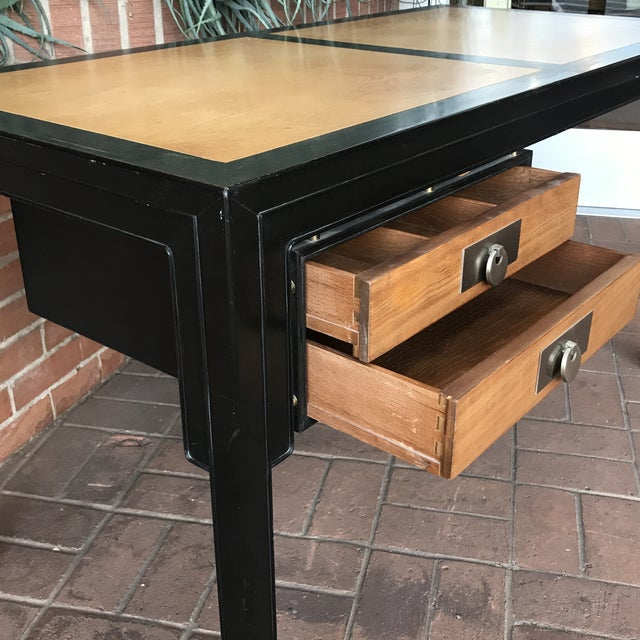 Mid-Century Modern Desk by Michael Taylor for Baker Furniture Company For Sale In Phoenix - Image 6 of 10