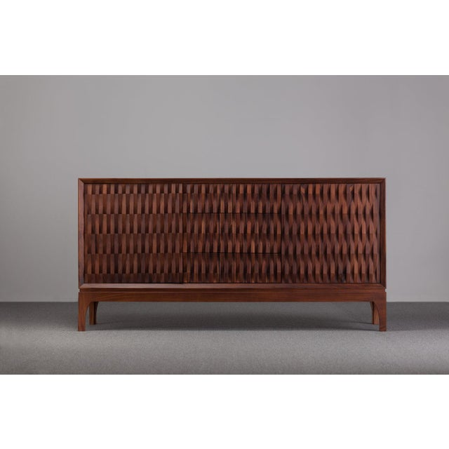Not Yet Made - Made To Order Ebb and Flow Pattern Credenza For Sale - Image 5 of 5
