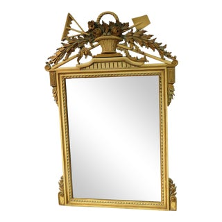 Regency Style Wall Mirror For Sale