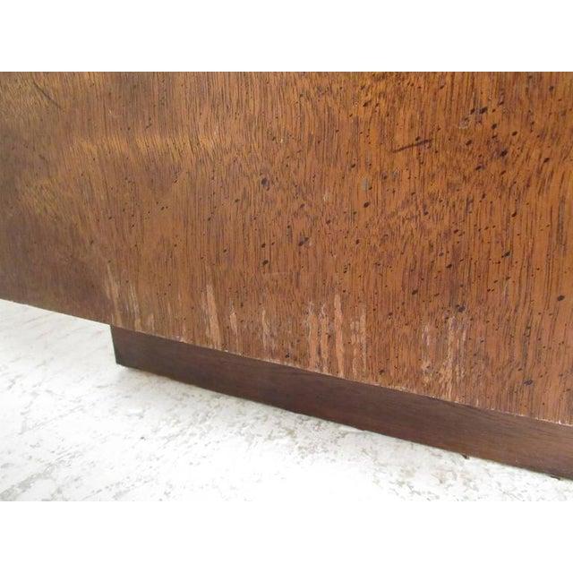 Vintage Modern Brutalist Bedroom Set by Lane Furniture For Sale - Image 9 of 11