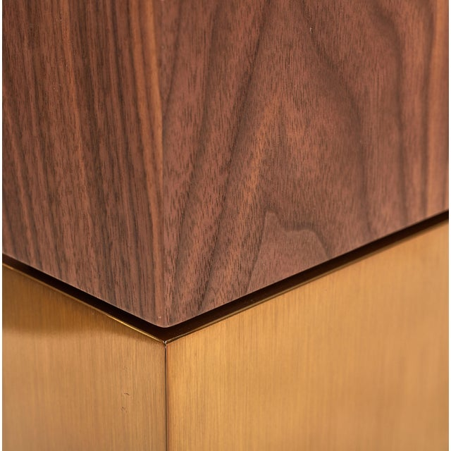 Debra Dining Table, Walnut For Sale - Image 4 of 6