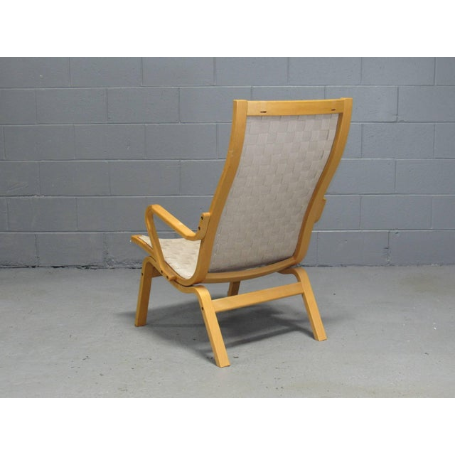 Beech Armchairs by Finn Østergaard- a Pair For Sale - Image 4 of 8