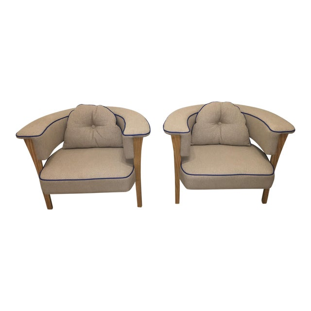 Pair of Mid Century Chairs - Image 1 of 10